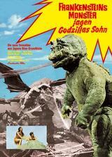 Godzilla - Frankenstein jagt Godzillas Sohn - Poster