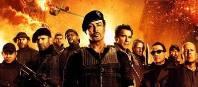 The Expendables im Flammenmeer.