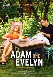 Adam und Evelyn Poster
