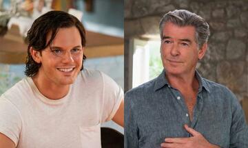 Mamma Mia 2: Jeremy Irvine und Pierce Brosnan als Sam