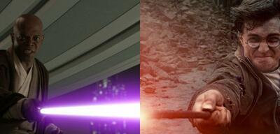 Star Wars: Episode III/Harry Potter und die Heiligtümer des Todes 2