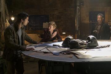 Thomas, Newt und Jorge planen ihren Einbruch
