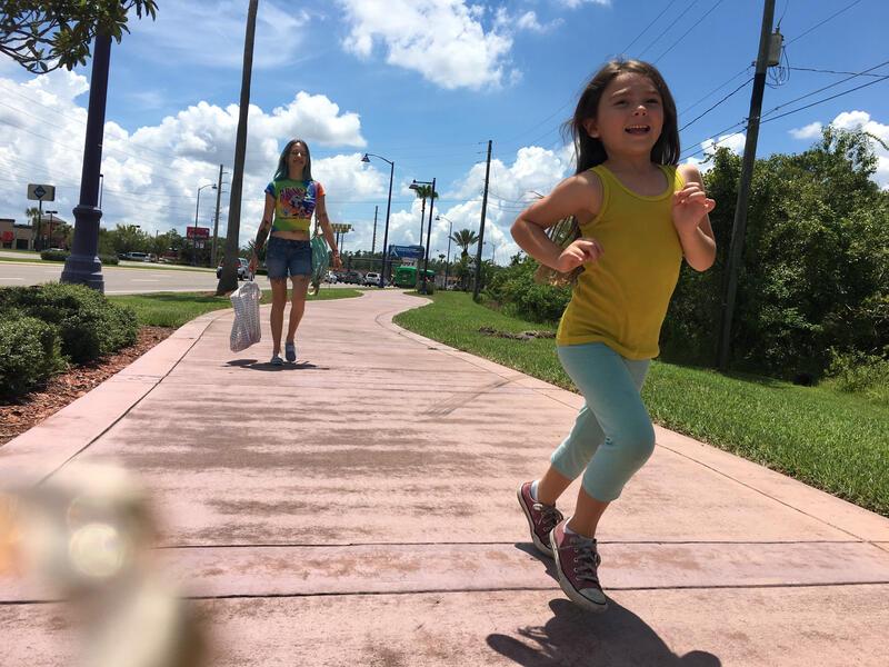 Florida Project mit Bria Vinaite und Brooklynn Prince