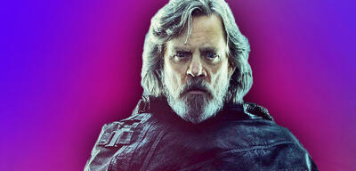 Mark Hamill als Luke Skywalker in Star Wars 8