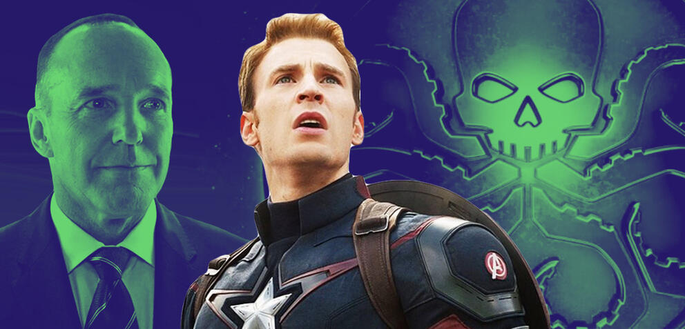 Agents Coulson, Captain America & Hydra