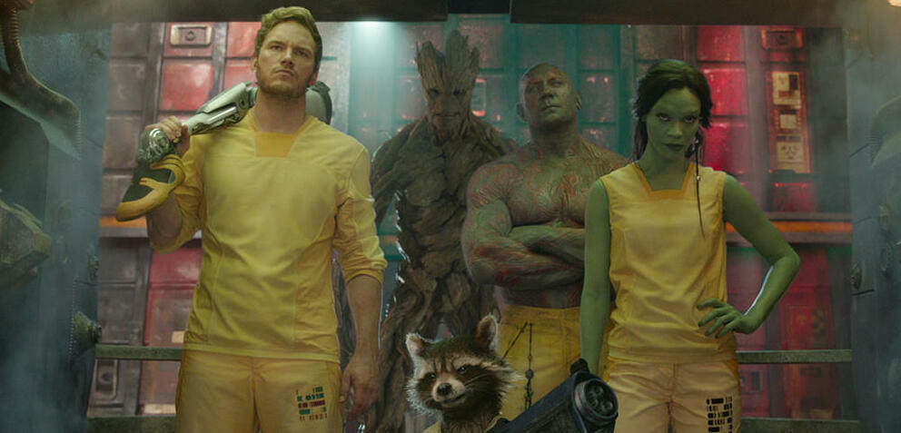 Stehe bereit: Guardians of the Galaxy
