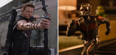 Hawkeye und Ant-Man