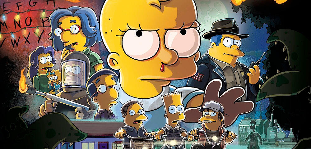 Lisa als Elfi: Die Simpsons veralbern Stranger Things in neuer Halloween-Folge