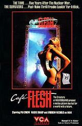 Café Flesh - Poster