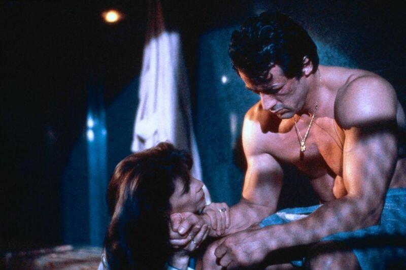 Rocky V mit Sylvester Stallone und Talia Shire