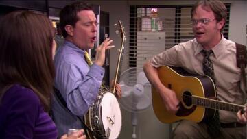 Andy Bernard (Ed Helms) und Dwight Schrute (Rainn Wilson)