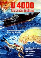 U-4000 - Panik unter dem Ozean - Poster