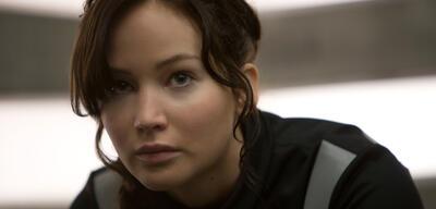 Jennifer Lawrence als Katniss aus den Tributen von Panem