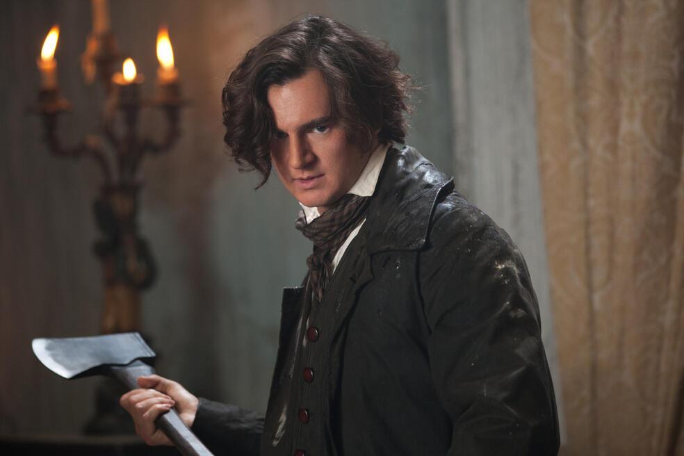 Abraham Lincoln Vampirjäger mit Benjamin Walker