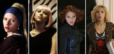 Scarlett Johansson in Das Mädchen mit dem Perlenohrring, Lost in Translation, The Avengers: Age of Ultron und Lucy
