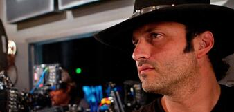 Robert Rodriguez am Set von Machete Kills