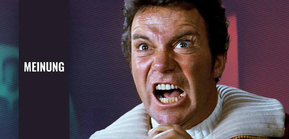 Khaaaaaan: William Shatner in Star Trek II: Der Zorn des Khan