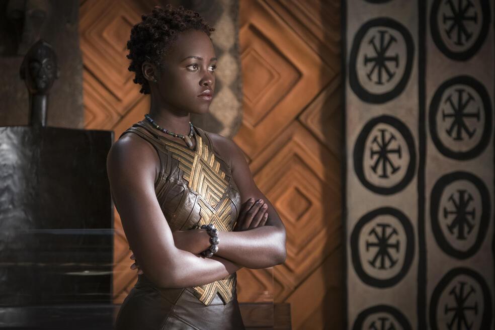 Black Panther mit Lupita Nyong'o