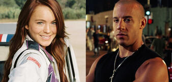 Lindsay Lohan und Vin Diesel