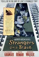 Der Fremde im Zug Poster