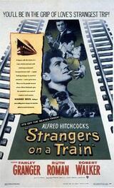 Der Fremde im Zug - Poster