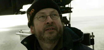 Lars von Trier am Set zu The Boss of it All