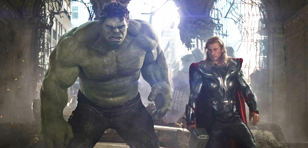 Thor und Hulk in Marvel's The Avengers