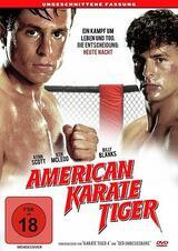 American Karate Tiger - Poster