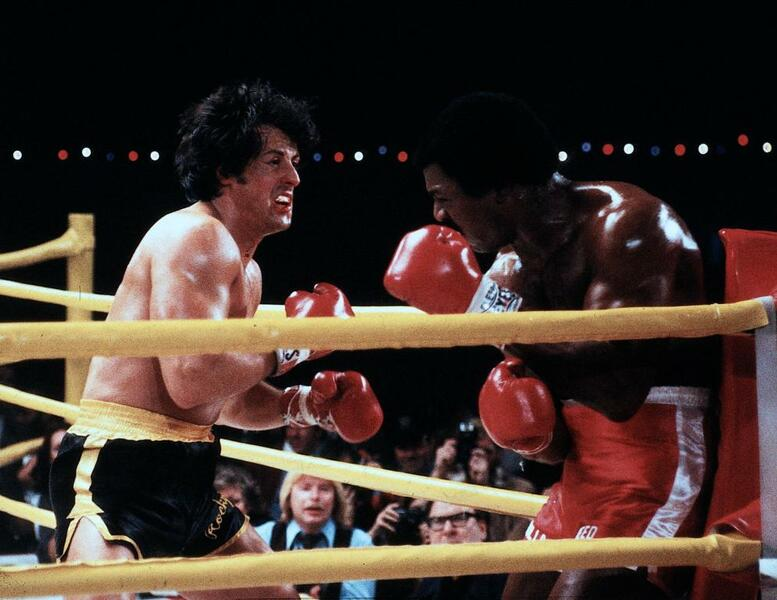 Rocky II mit Sylvester Stallone