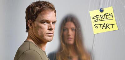 Michael C. Hall und Jennifer Carpenterin Dexter