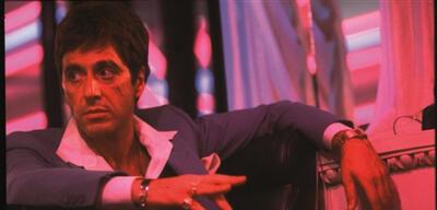 Al Pacino in Brian De Palmas Scarface