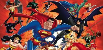 Bild zu:  Die Superhelden des DC Animated Universe