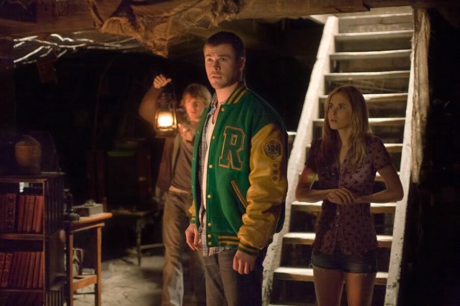 The Cabin in the Woods mit Chris Hemsworth, Fran Kranz und Anna Hutchison