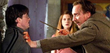 Harry Potter und Lupin (und Ginny)