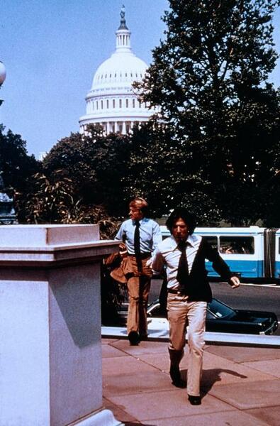 Die Unbestechlichen mit Dustin Hoffman und Robert Redford
