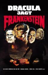 Dracula jagt Frankenstein - Poster