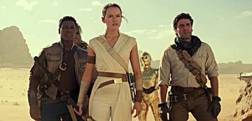 Rey und ihre Freunde