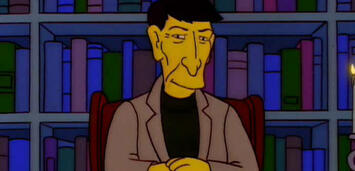 Bild zu:  Leonard Nimoy bei den Simpsons