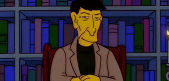 Leonard Nimoy bei den Simpsons