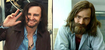 Charles Manson in Once Upon a Time ... in Hollywood und Mindhunter