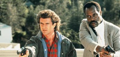 Lethal Weapon - Mel Gibson und Danny Glover in jüngeren Jahren