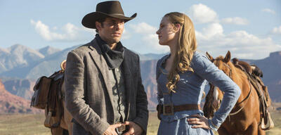James Marsters und Evan Rachel in Westworld