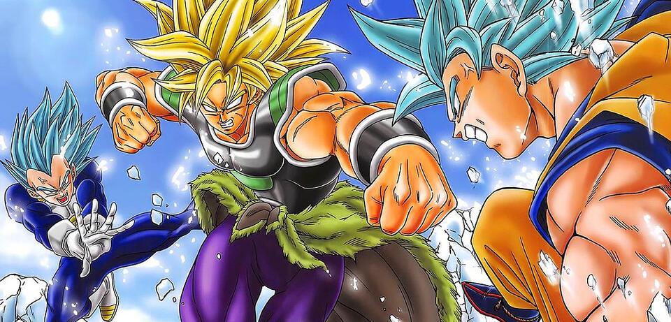 Son-Goku & Vegeta vs. Broly