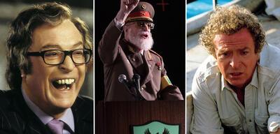 Michael Caine in Austin Powers in Goldständer, Dear Dictator und Der weiße Hai 4