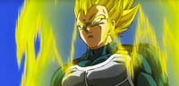 Bild zu:  Vegeta als Super-Saiyajin
