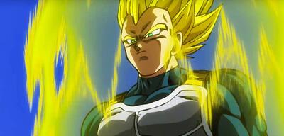 Vegeta als Super-Saiyajin