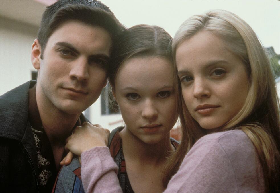 American Beauty mit Mena Suvari, Wes Bentley und Thora Birch