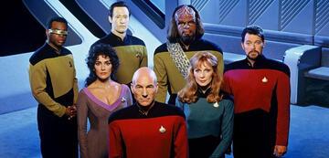 Die Crew der Enterprise-D ab Staffel 5