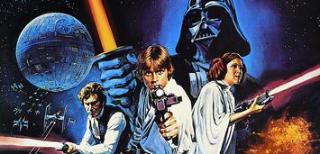 Bild zu:  Ein Poster zum ersten Star Wars