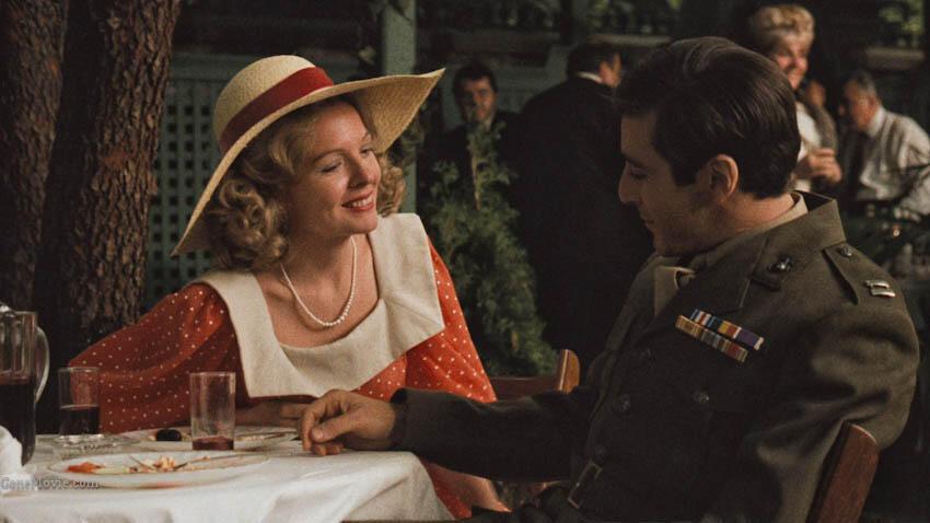 Der Pate mit Al Pacino und Diane Keaton